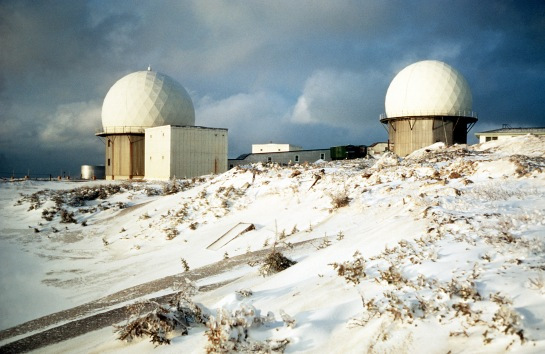 Radar in snow, 1968, via NARA, ARC# 6506387